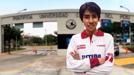 Estudiante de Apurímac ocupó el primer puesto en la admisión para la PUCP y la UNI