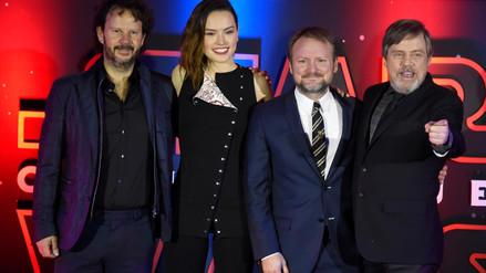 Elenco de Star Wars presente en premiere para América Latina