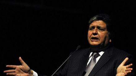 La Comisión Lava Jato citó a Alan García para el 11 de diciembre