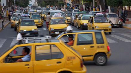 Chiclayo: evalúan ampliar por 60 días formalización de taxis