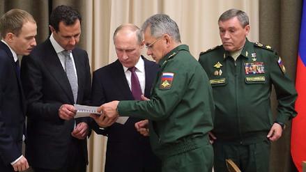 Al Assad se reunió con Putin en Sochi para hablar de la guerra en Siria