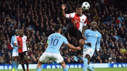 Manchester City derrotó al Feyenoord y sigue invicto en la Champions League