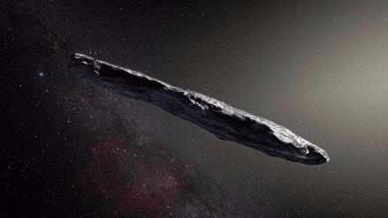 El extraño y primer asteroide que viene de otro sistema solar