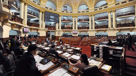 Presupuesto 2018 quedó listo para ser visto por el pleno del Congreso