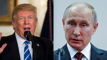 Trump y Putin hablaron más de una hora sobre Siria, el terrorismo y Corea del Norte
