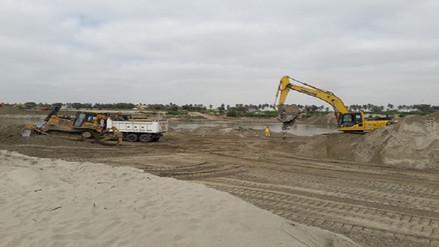 Continúan cuestionamientos y preocupación por labores en el río Piura