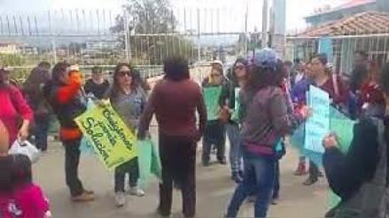Docentes de la I.E Urrelo cumplen un mes en huelga indefinida