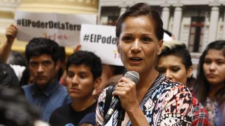 """Mónica Sánchez dijo estar """"decepcionada"""" por el financiamiento de la campaña del NO"""