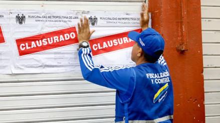 Clausuran dos galerías de Mesa Redonda por incumplir medidas de seguridad