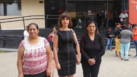 Familiares de víctimas en el conflicto de Conga temen que caso quede impune