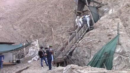 Rescatan ultimo cuerpo de joven atrapado en mina Las Gemelas
