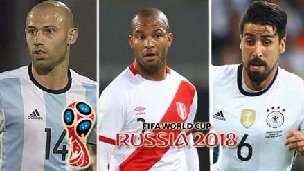 Los jugadores más veteranos de cada selección que jugarán en Rusia 2018