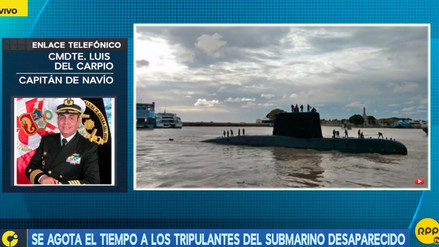 ¿Qué métodos tienen los tripulantes del submarino argentino para que dure más el oxígeno?