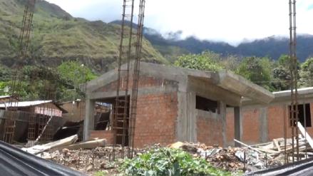 Obra en colegio de Kañaris seguirá paralizada hasta nuevo aviso