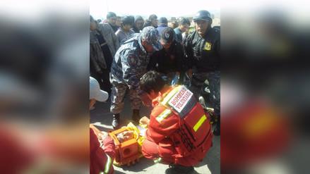 Escolar fue atropellado por una camioneta en Jauja