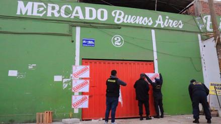 Clausuran mercado Buenos Aires por incumplir con normas de seguridad