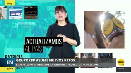 El Grupo RPP presentó sus nuevos productos en la preventa 2018