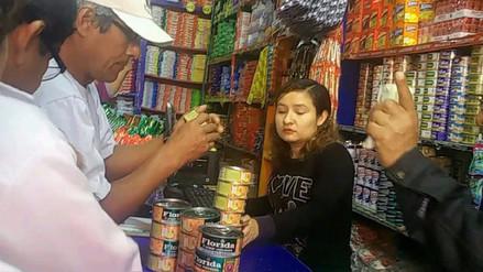 Retiran de mercados de Chiclayo 2 500 latas de conserva de caballa