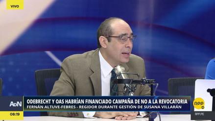 """Altuve-Febres: """"Marisa Glave no participó en el tema económico de la campaña por el NO"""""""