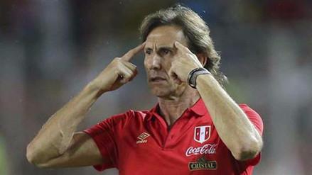 Ricardo Gareca vio 'razonables' los últimos minutos del Perú vs. Colombia