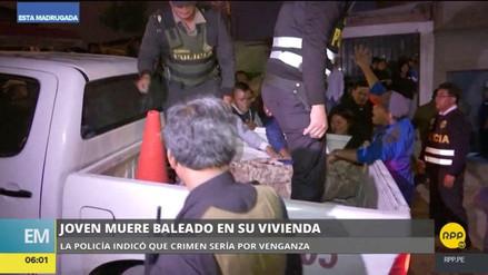 Matan de dos balazos en la cabeza a un joven en Villa El Salvador