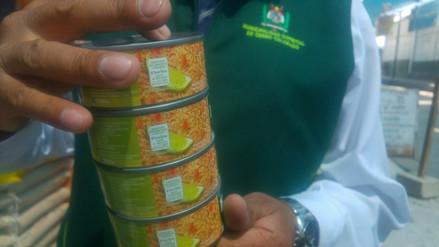 Continúan operativos para evitar venta de conservas de pescados con parásitos