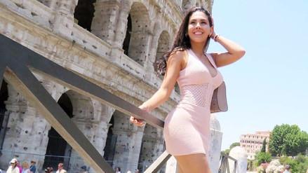 Stephanie Valenzuela se luce con multimillonario Gianluca Vacchi