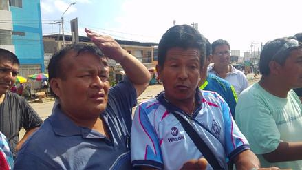 Comerciantes amenazan con paralizar obra de la Av. Sánchez Cerro