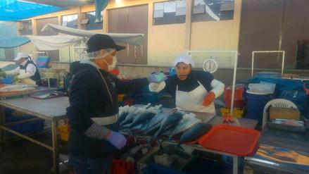 Decomisan pescado en mal estado en terminal Río Seco