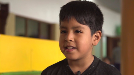 Los niños de la Teletón le dicen 'No' a la violencia contra la mujer