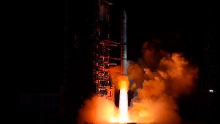 China lanzó con éxito varios satélites de detección remota