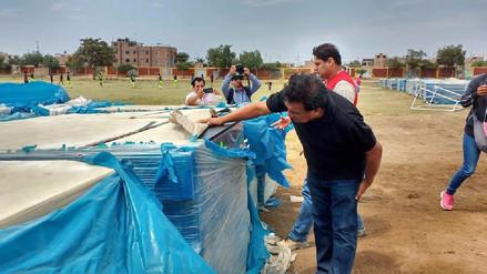 No repartirán 1 500 módulos a damnificados en Lambayeque