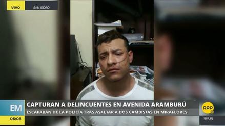 Identifican a los tres asaltantes capturados tras una balacera en San Isidro