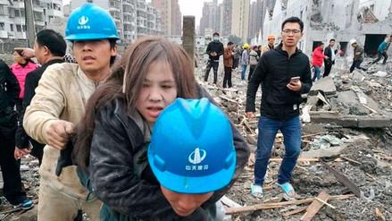 Una explosión en fábrica de China dejó dos personas muertas y treinta heridas