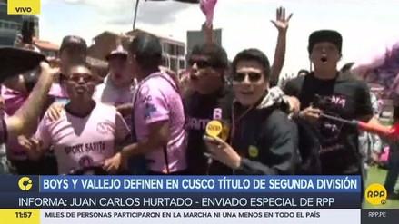 Hinchada de Sport Boys calentó la previa de la final contra César Vallejo