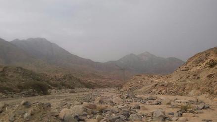 Trujillo: reportan lluvias en zona de quebrada San Idelfonso