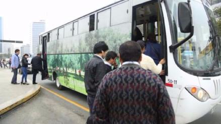 Municipalidad de San Isidro inauguró sistema de transporte público gratuito