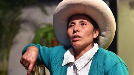 Máxima Acuña denunció a Perú ante la Corte Interamericana de Derechos Humanos
