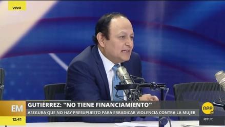 """Walter Gutiérrez: """"El Plan Nacional Contra la Violencia de Género no tiene presupuesto"""""""