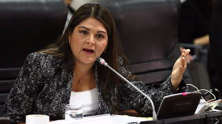 Eligen a Karina Beteta para realizar informe de denuncias contra el fiscal de la Nación