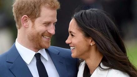 El príncipe Harry y Meghan Markle posaron para las cámaras