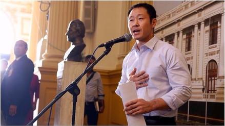 La bancada de Fuerza Popular suspendió por 120 días a Kenji Fujimori