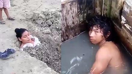 Iquitos: invasores buscaron de diversos modos evitar desalojo de terrenos