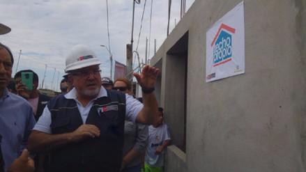 Más de 100 viviendas en sitio propio se construyen tras Niño Costero