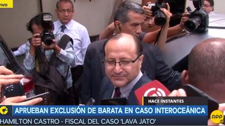 Fiscal Castro dijo que el próximo año cerrará el acuerdo de colaboración eficaz con Barata