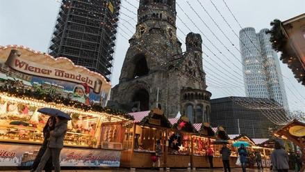 Reabrió en Berlín la feria navideña que fue víctima de un atentado en 2016