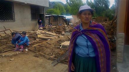 Más de 175 viviendas afectadas tras inundación en Baños del Inca