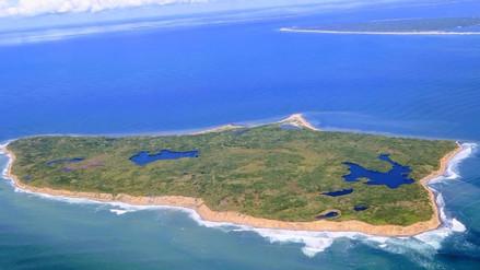 Nadie puede vivir en esta isla por estar plagada de bombas sin detonar