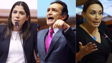 Congresistas reaccionan luego de la suspensión de 120 días a Kenji Fujimori