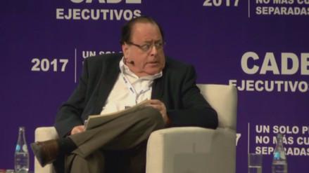Velarde señaló que la opinión del MEF ha perdido peso en el Congreso